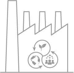Ethical factories icon