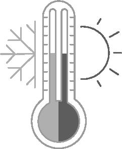 Perfect sleeping temperature icon