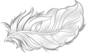 Feather icon illustrating softness of bamboo bedding fabrics